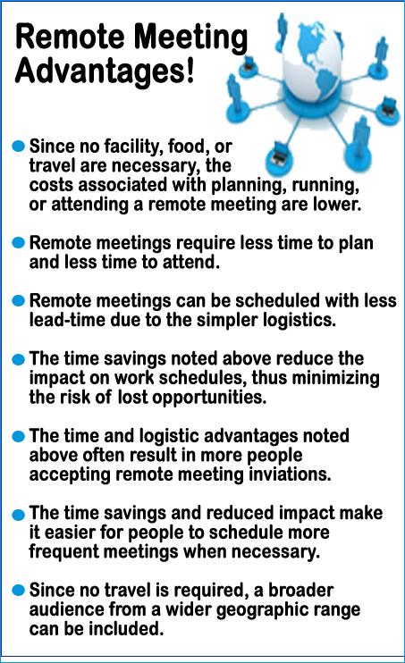 remotemeetingadvantages